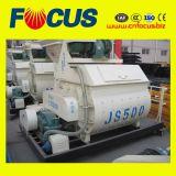 Js500 500L Twin Shaft Concrete Mixer for Sale
