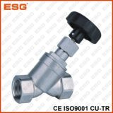 Manual Stainless Steel Angle Seat Valve