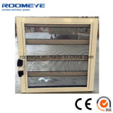 Top Quality Aluminum Float Glass Louver Window with Screen