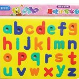 Custom Made Educational Rubber Magnetic Alphabet for Kids