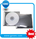 Transparent CD Jewel Case with Black Tray