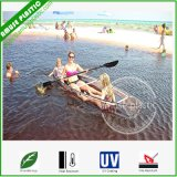 Unbreakable Transparent PC Fishing Canoes Clear Polycarbonate Sea Kayaks