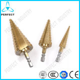 Titanium Coating HSS Step Drill Bit