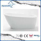Bathroom Pure Acrylic Seamless Freestanding Bathtub (AB6507)