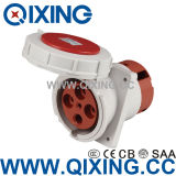 Cee IP67 5 Pin Explosion Plug and Socket for 63 AMP Connector