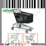 180 Litre Plastic Supermarket Shopping Trolley Cart