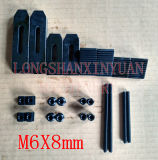 M6*8mm Deluxe Steel High Hardness 24PCS Clamping Kit