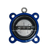 Wafer Double Disk Rubber Lined Butterfly Check Valve