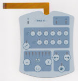 Screen Printing Resistant Overlay Control Keypads Membrane Switch
