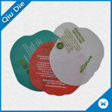 Round Apple Shaped Colorful Silk-Screen Printing Plastic Hang Tags