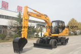 15t Wheel Construction Excavator