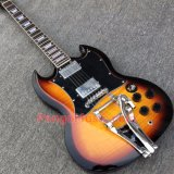 Pango Music Sg Style Electric Guitar with Bigsby Vibrato (PSG-002)