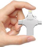 16g USB Driver 16GB Pendrive USB2.0 Microusb Lightning USB3.1 Type C 4 in 1 USB Stick