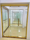 Luxury Electroplating Stainless Steel Shower Room Glass Shower Enclosure