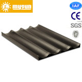 1.0mm Aluminum Alloy French Bread Bakery Tray with 4 Rows