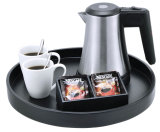 Hotel 0.5L Stainless Steel Electric Kettle with Kettle Trays