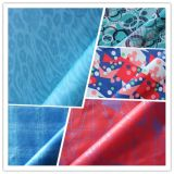 Printed Water Proof Poly Pongee with Coating for Garment Fabric