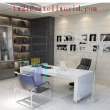Factory Directly Supply Modern Boss Director Office Counter Furniture Photos Corian Latest Office Table Design