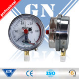 Cx-Pg-Sp Electric Contact Glycerine or Silicone Oil Filled Pressure Gauge (CX-PG-SP)