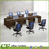 Wood Design 6 Seat Office Workstation (CF-P10101)