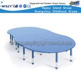 Kindergarten Classroom Furniture Kids Plastic Table Combined Table Set Hc-1801