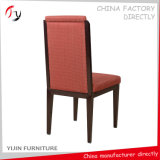 Brown Legs Red Covered Fabric Special Coffee Shop Furniture (FC-74)