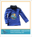 Kids Comfortable Soft Blue Fleece Jacket with High Quality (CW-KIDS-FJ2)
