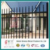 Welded Steel Picket Fence/Ornamental Iron Fence /Garrison Fence Panel