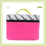 Hot Selling Fashion Durable Eco-Friendly Canvas Cosmetic Bag