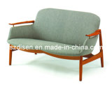 Finn Juhl Fj-02 Easy Chair / Modern Wooden 2 Seat Sofa (DS-H538C)