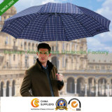 Large Three Folding Rain Umbrella for Gentleman (FU-31025Z)