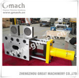Single Plate with Four Working Position Continuous Screen Changer for Plastic Extrusion Line