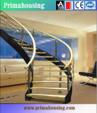 Hardwood Stairs with Wooden Loft Ladders Grand Staircase Pr-C04