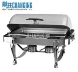 Deluxe Oblong Roll Top Chafing Dish/Chafer/Food Warmer (S901)