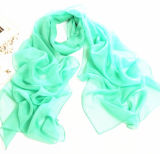 32 Colors Chiffon Solid Color Long Scarf