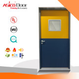 Single Door Leaf Steel Fire Door with 3.0 UL Certified (ASTM standard)