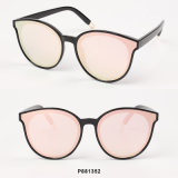 New Fashion Women Oversize Sunglasses with Metal Tips