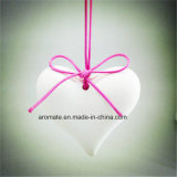 Heart Shaped Scented Ceramic Gift for Valentine′s Day (AM-11)