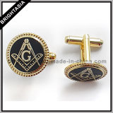 Men Enamel Metal Cuff Links for Promotion Gift (BYH-10227)