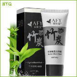 Hot Sell Afy Suction Black Mask with Bamboo Charcoal Best Skin Care Blackhead Removal
