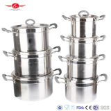 Fine Finished Stainless Steel Cookware