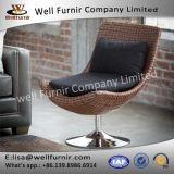 Well Furnir T-029 Swivel Rattan Chair