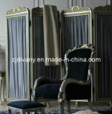 French Style Bedroom Furniture Wood Screen (2801)