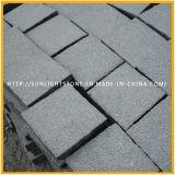 Cheap Natural G654 Grey Granite Paving Stone, Cobblestone, Cubestone