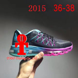 2017 New Brand 2015 Sole Air Cushion Women and Mens′s Running Shoes Size 36-44