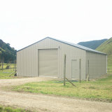 Prefab Metal Structure for Garage and Warehouse