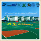 Eco-Friendly Spu Sports Flooring with Iaaf Certificate