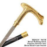 Metal Head Cane Sword Metal Walking Stick 94cm HK8410