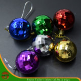 High Quality Christmas Assorted Plastic Hanging Ball (HANS-86#-68)