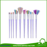 10PCS Animal Hair Cosmetics Makeup Brush with Customed Packing